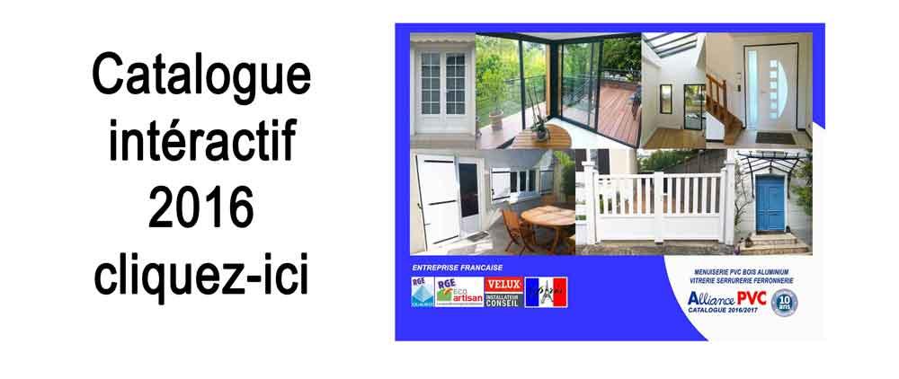 Fenetre porte alliance pvc for Catalogue fenetre